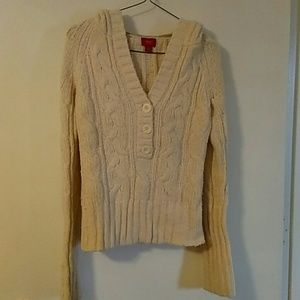 *Mossimo* thick knit sweater